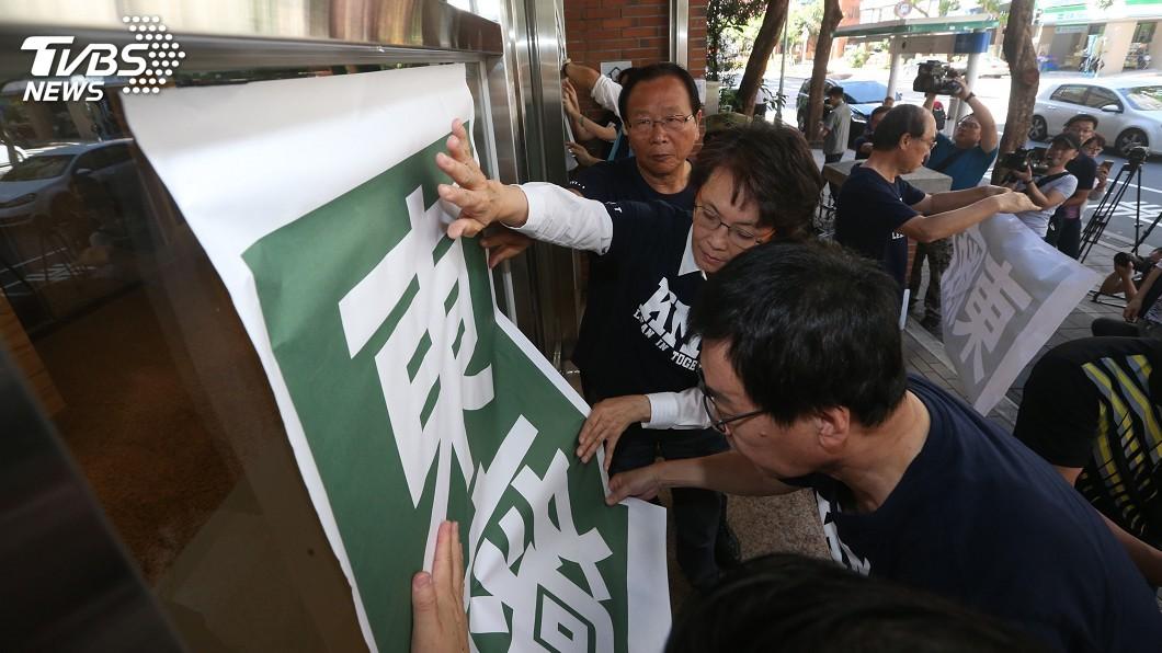 圖/中央社 藍委要求「解散張天欽們」 總統府拒絕