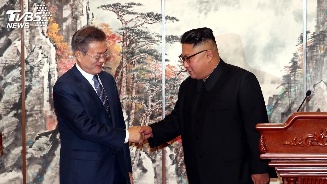 圖/達志影像路透社 兩韓將共同申辦2032年奧運 川普推特發文讚賞