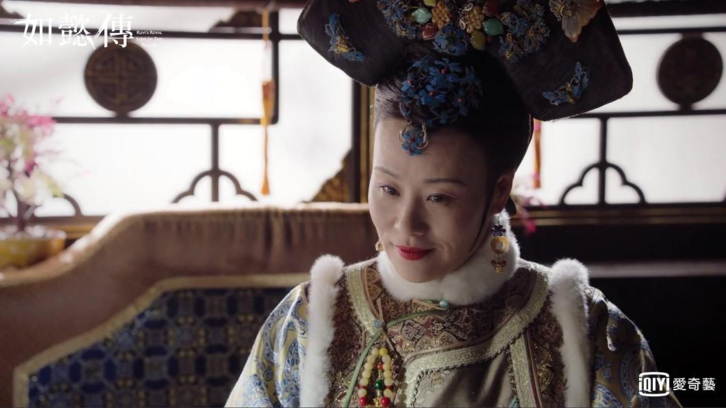 大陸女星鄔君梅被傳遭于正諷為「老鴇」。(圖/愛奇藝台灣站提供)