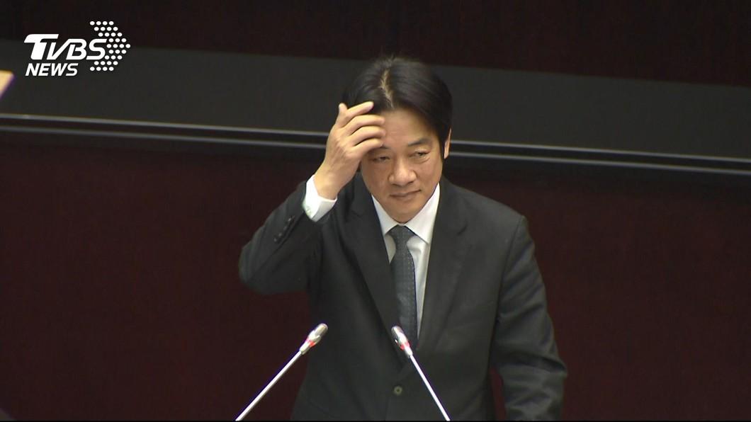 圖/TVBS 薛香川下台對比陳建仁沒事?賴清德:過去讓它過去
