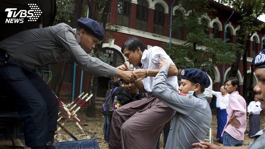 圖/達志影像美聯社 緬甸關押路透記者 UN秘書長促特赦