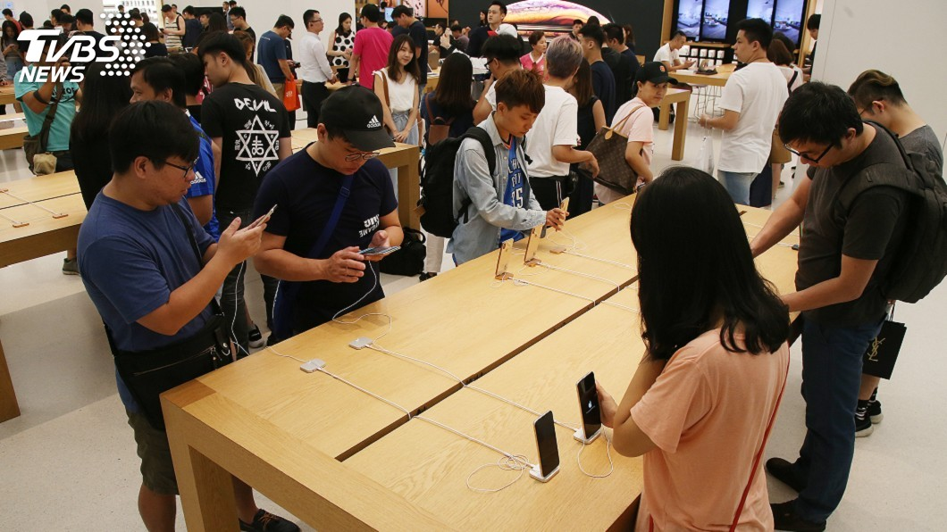 示意圖。圖/中央社 果粉快去換!iPhone電池890元優惠倒數