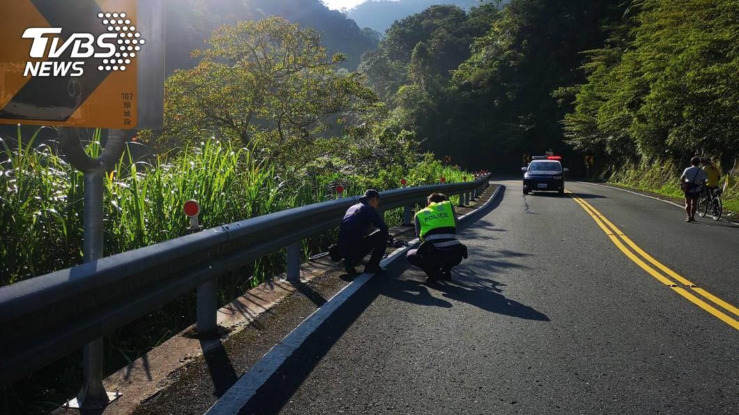由於事故現場沒有監視器,因此警方尋求今上午有經過附近的目擊者,以釐清事故經過。圖/TVBS