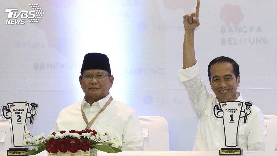圖/達志影像美聯社 印尼總統選戰開跑 聚焦經濟改革族群包容