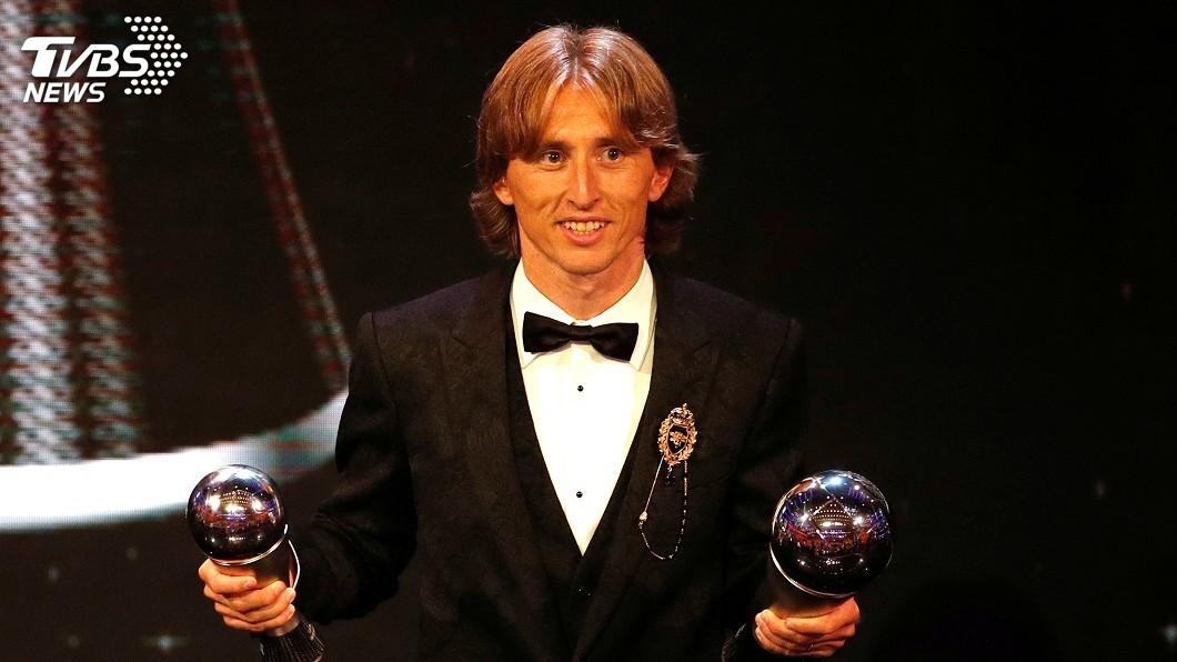 圖/達志影像路透社 莫德里奇獲FIFA最佳球員 中止C羅、梅西壟斷