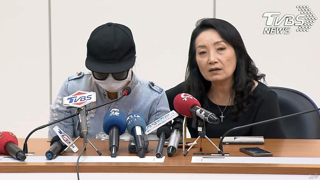 圖/TVBS 皮包骨男童生父辯發展遲緩 生母現身駁:兒子很正常