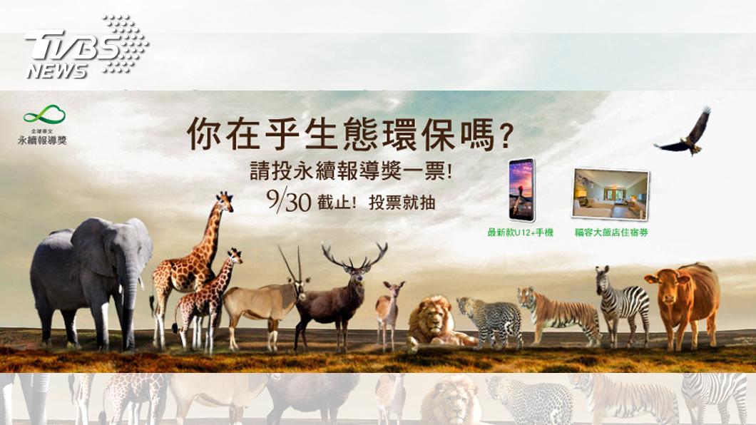 圖/TVBS 2018全球華文永續報導奬人氣投票活動 最後倒數六天