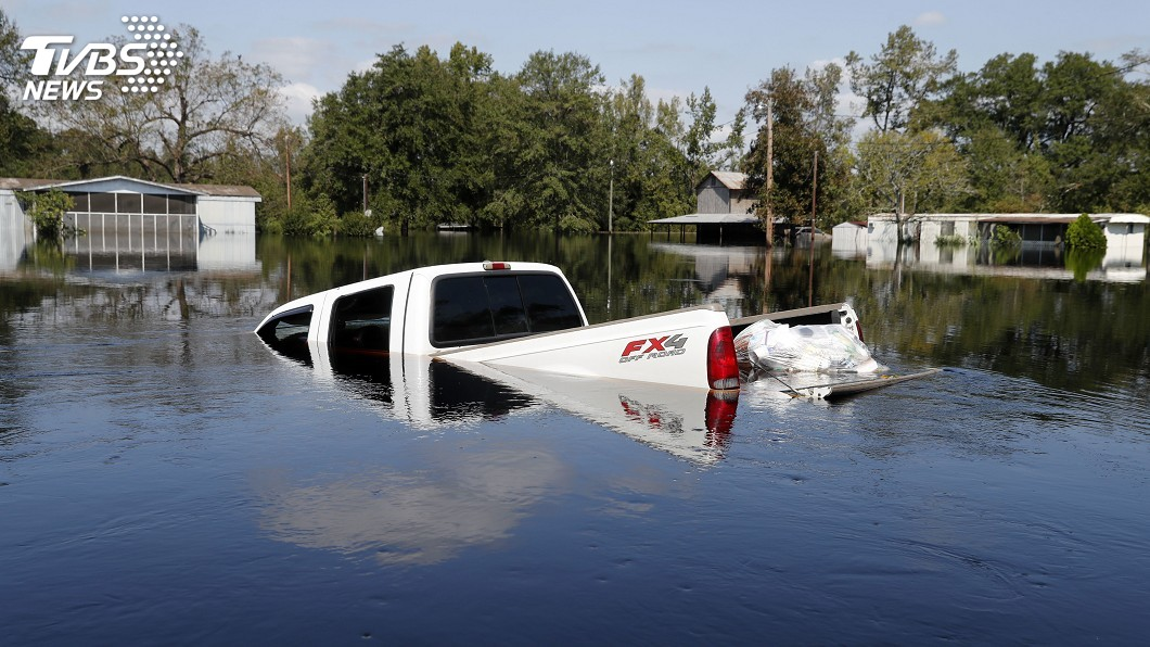 圖/達志影像美聯社 颶風恐引發洪水 南卡州數千人收到撤離通知