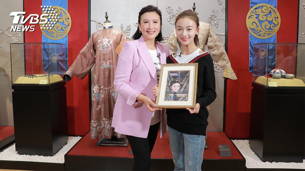 《TVBS看板人物》方念華獨家節目專訪吳謹言。(圖/TVBS) 獨家專訪魏瓔珞 戲裡開外掛 戲外反差大