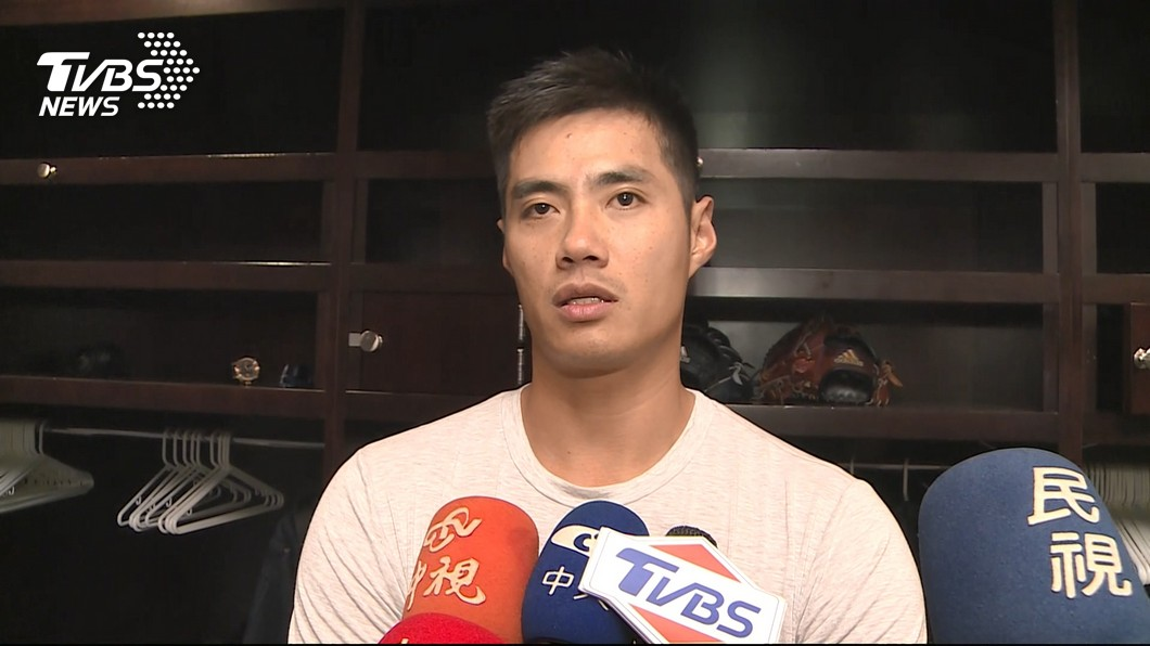 圖/TVBS 陳偉殷至水手隊報到 背號換56象徵重新開始