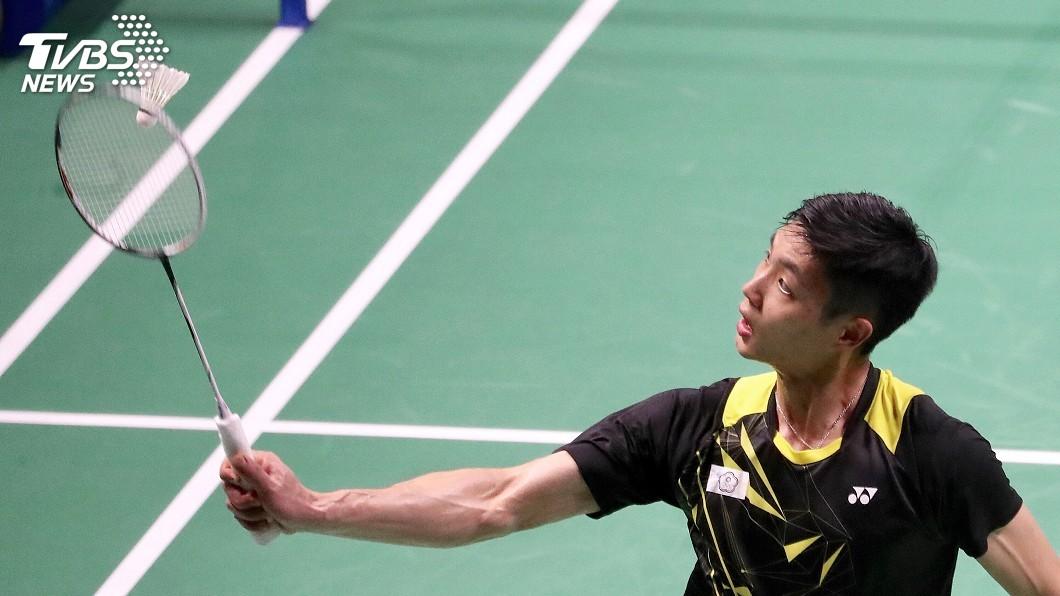 圖/中央社資料畫面 周天成首勝印尼名將 蘇迪曼盃中華隊聽牌