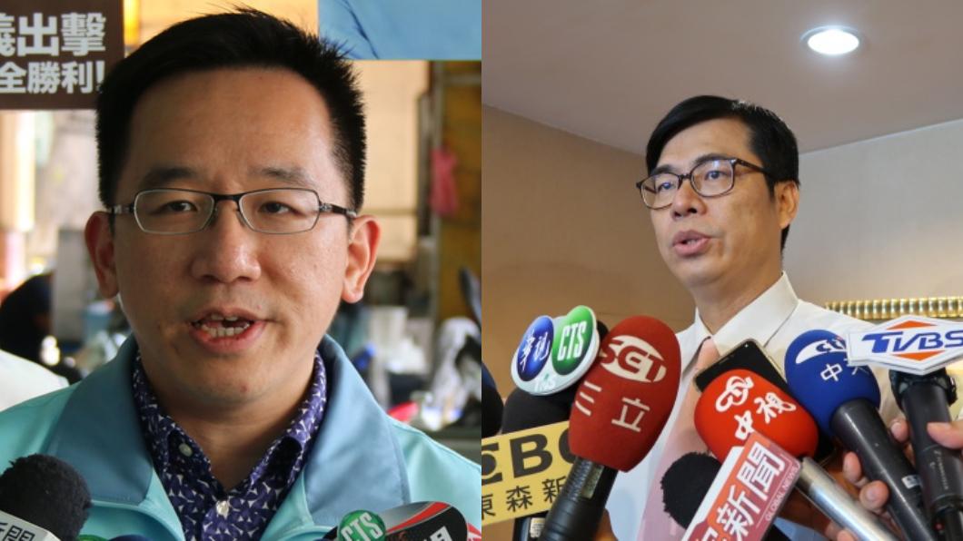 圖/TVBS 陳致中配陳其邁「貪腐組合」 藍營:上招待所打擊到選情