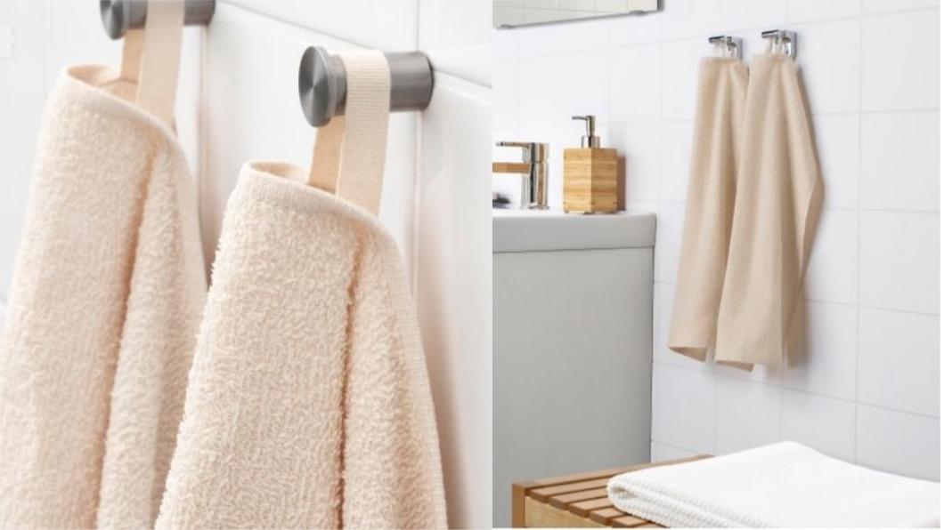 LEJAREN毛巾,1條15元,不含其他物品。圖/翻攝自IKEA官網