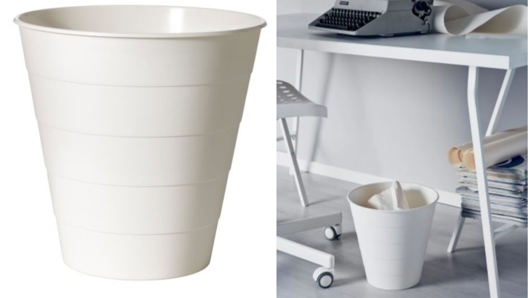 FNISS垃圾桶,不含其他物品。圖/翻攝自IKEA官網