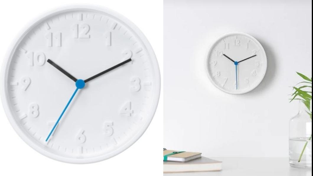 STOMMA時鐘,不含其他物品。圖/翻攝自IKEA官網