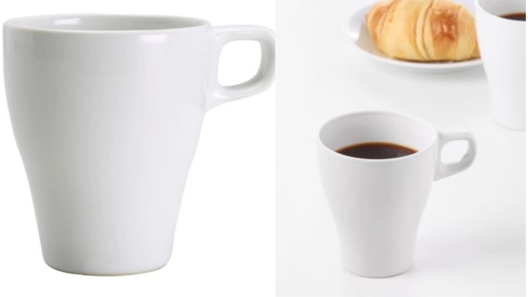 FÄRGRIK馬克杯(半瓷),不含其他物品。圖/翻攝自IKEA官網