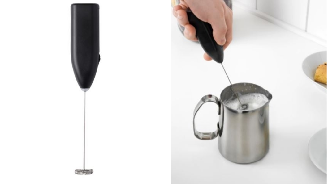 PRODUKT奶泡器,不含其他物品。圖/翻攝自IKEA官網