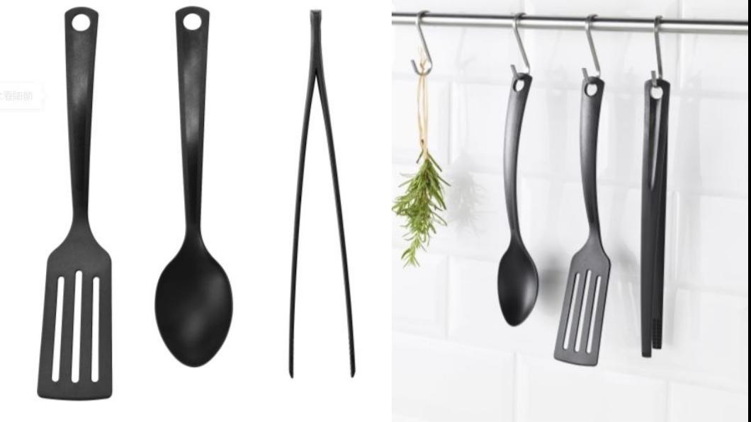 GNARP廚房用具3件組,不含其他物品。圖/翻攝自IKEA官網