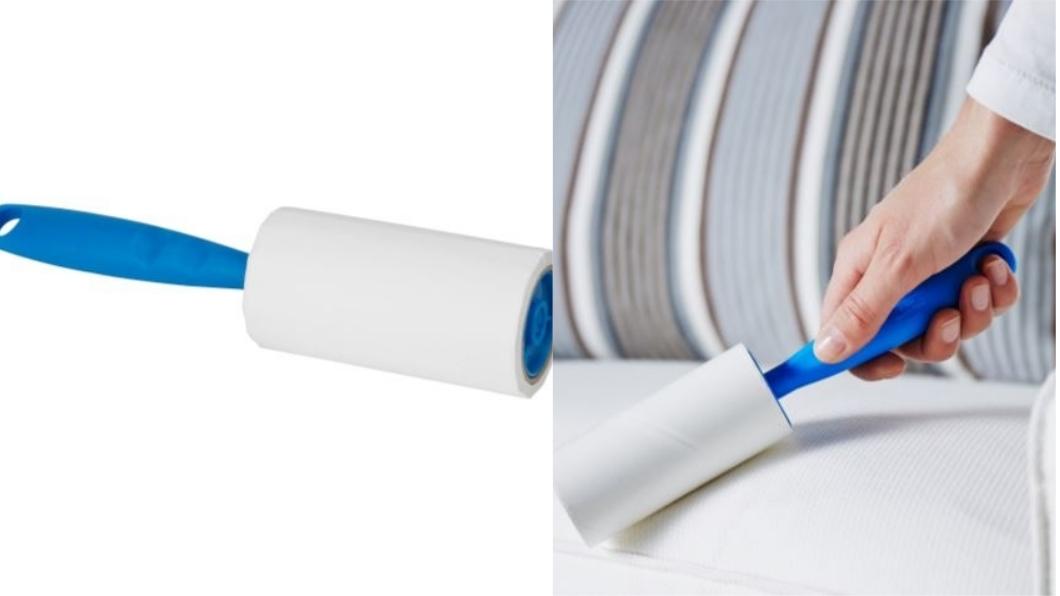 BÄSTIS毛絮黏把,不含其他物品。圖/翻攝自IKEA官網