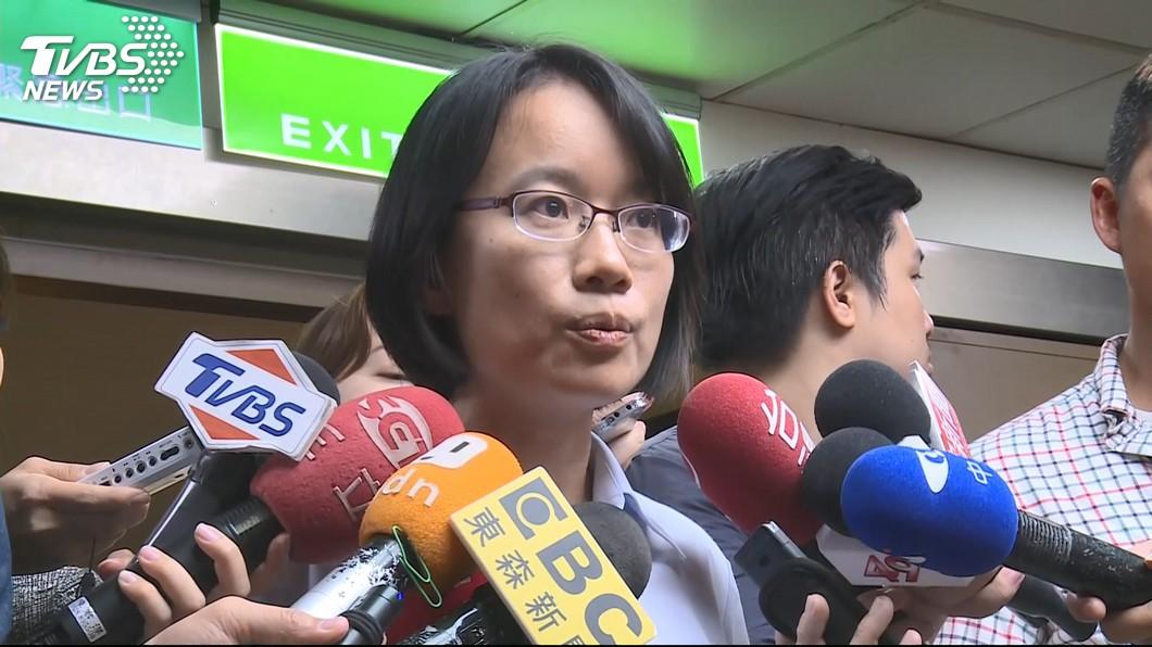 圖/TVBS 遭解職即刻丟官 吳音寧現身回應