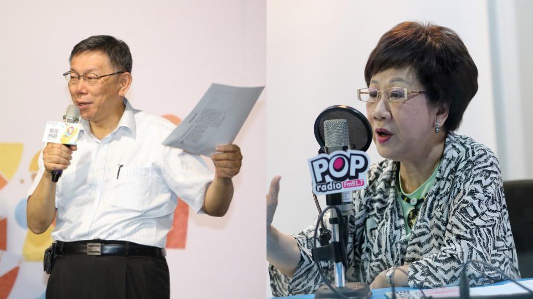 圖/中央社 批柯文哲「台灣商品說」可惡 呂秀蓮:選總統怎麼辦?