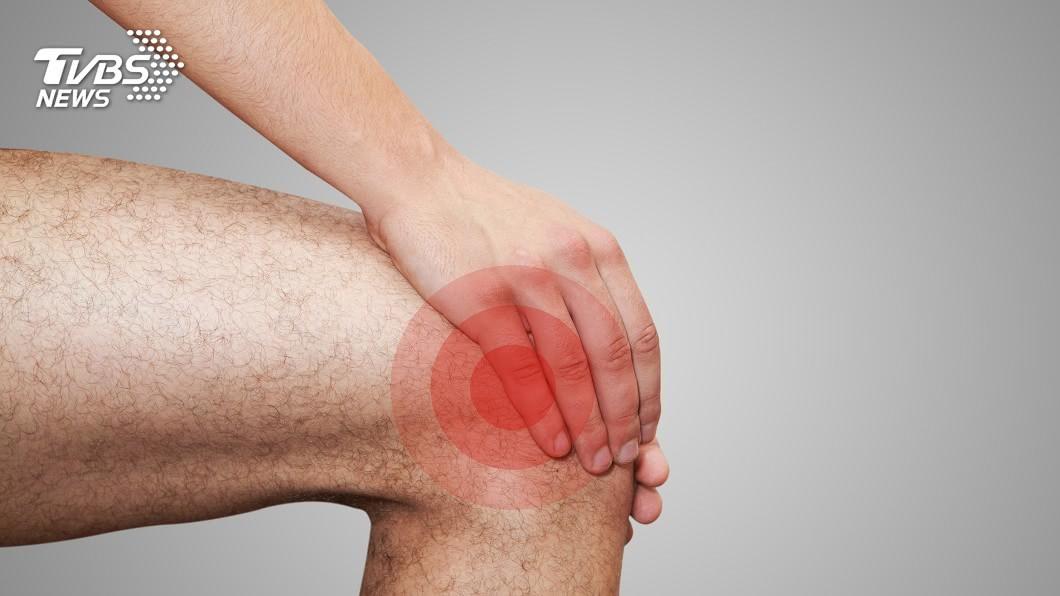 示意圖/TVBS 膝蓋疼痛啵啵聲快就醫 恐是半月板求救警訊