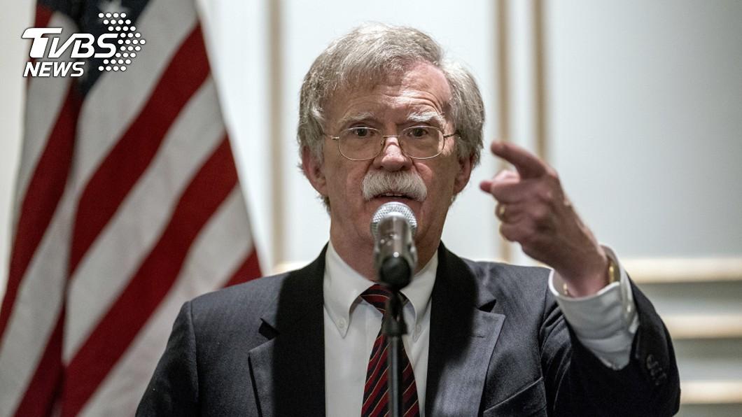 美國國安顧問波頓(John Bolton)。(圖/達志影像美聯社)