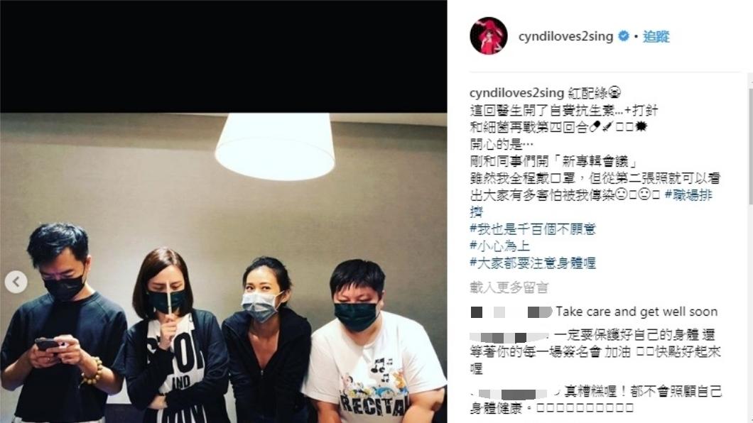 圖/翻攝自王心凌Instagram