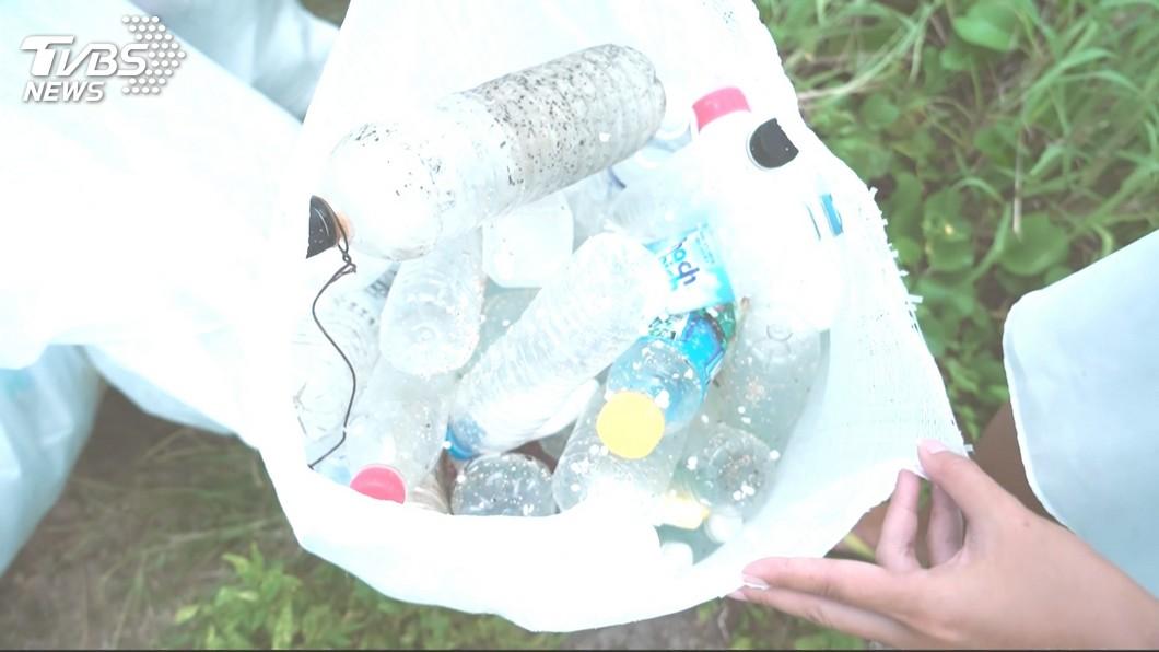 圖/TVBS 人類每年攝取成千上萬塑膠微粒 傷害仍不明