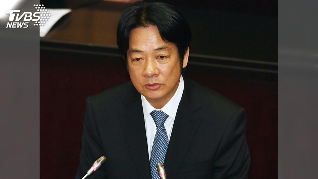 圖/中央社 政院將專案調查促轉會爭議 賴清德上台施政報告