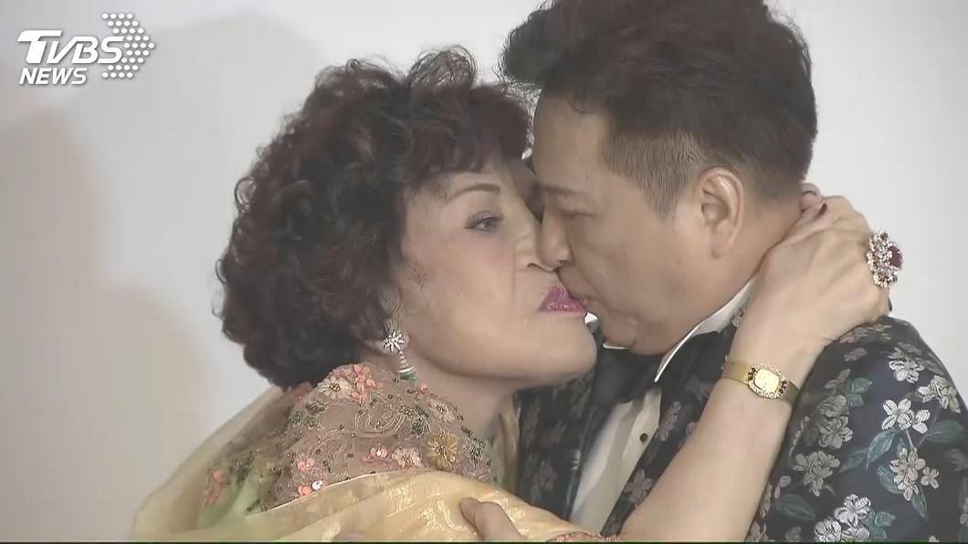 周遊去年與老公李朝永舉辦紅寶石婚禮,當時陳松勇批評李朝永是「考古學家」。圖/TVBS資料畫面