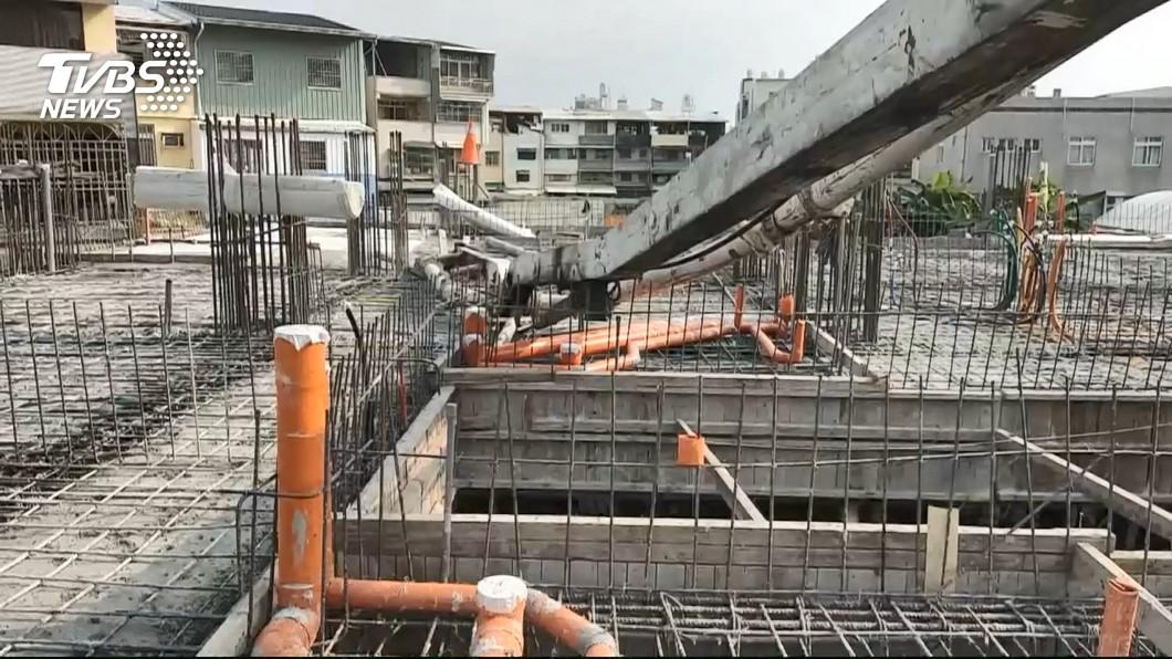 (圖/TVBS) 9月三大產業測驗點同步走揚 營建業創逾10年新高