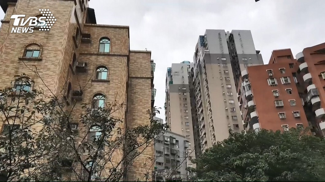 圖/TVBS 台北單一且自住房屋稅 擬調降至0.6%