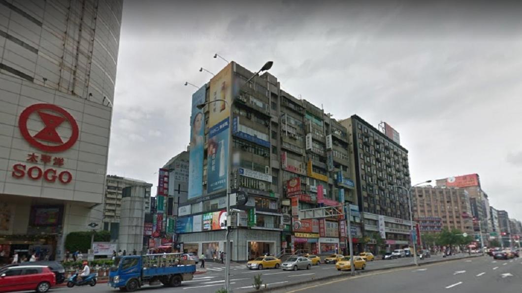 圖/翻攝自Google Map網站 閒置就是不降租 東區超狂神祕地主整排店面都他的