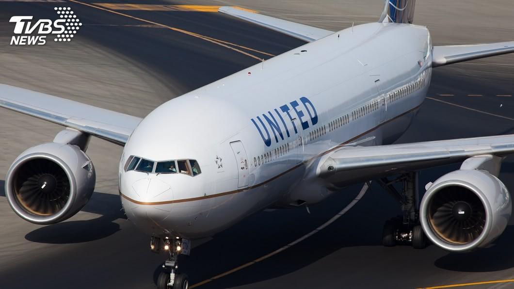 美國聯合航空公司。(示意圖/shutterstock 達志影像) 聯航與工會達成協議 近3千機師免走無薪假一途