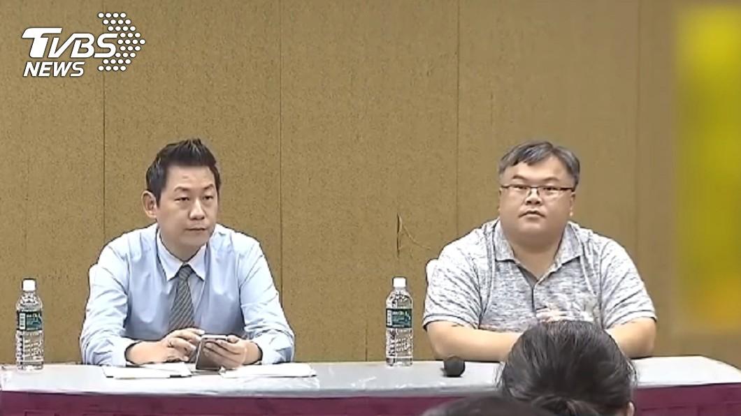 遭影射的2名律師朱治國、呂朝章反擊提告。圖/TVBS 開吉了!不爽被控性侵酒店妹 百億富豪要告80名網友
