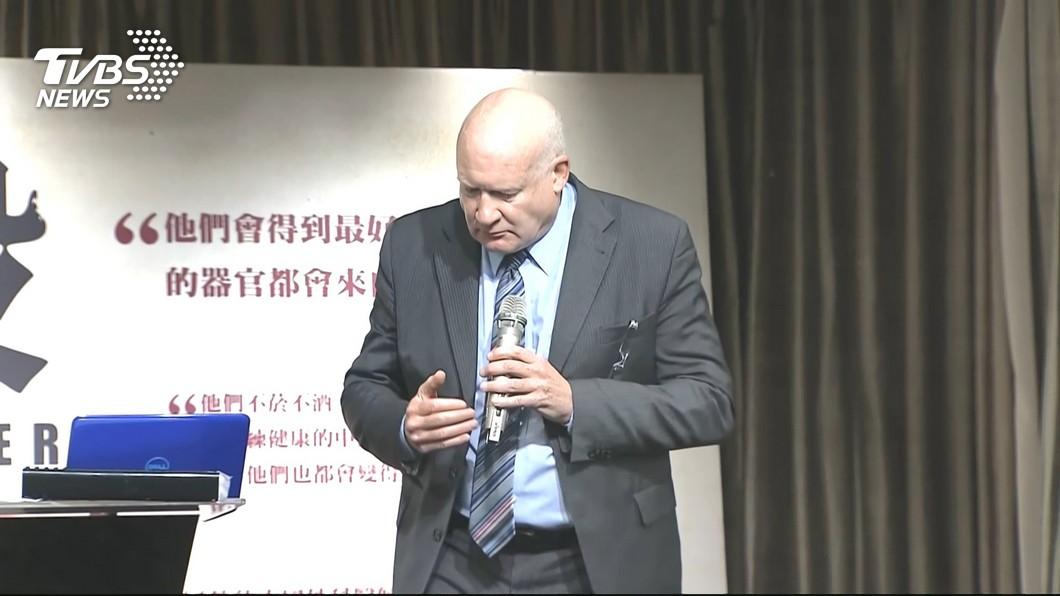 圖/TVBS 葛特曼指赴陸移植器官「台要重罰」 宅神:根本假新聞