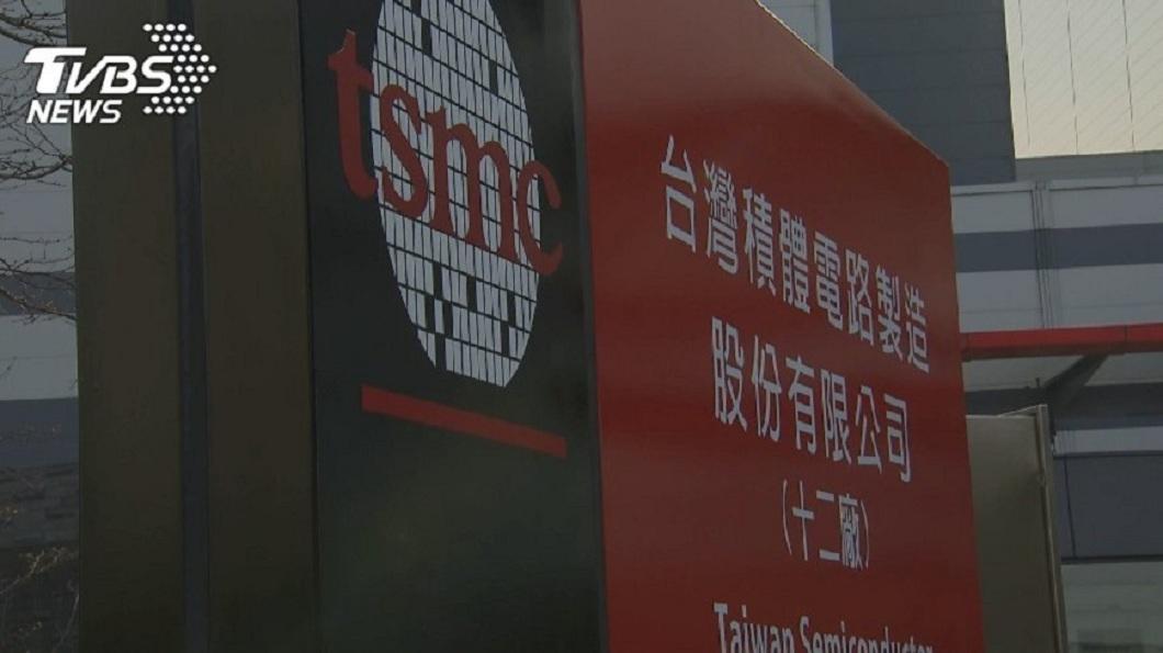 圖/TVBS 安謀暫停華為授權衝擊 台積電市值跌破6兆元
