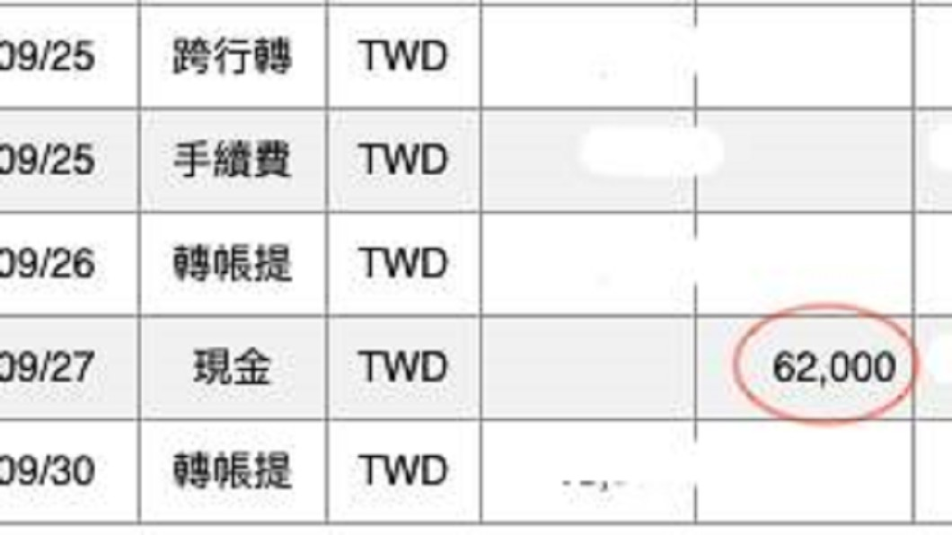 圖/爆料公社 戶頭莫名多6萬2 他報警沒用…上網尋失主「李小姐」
