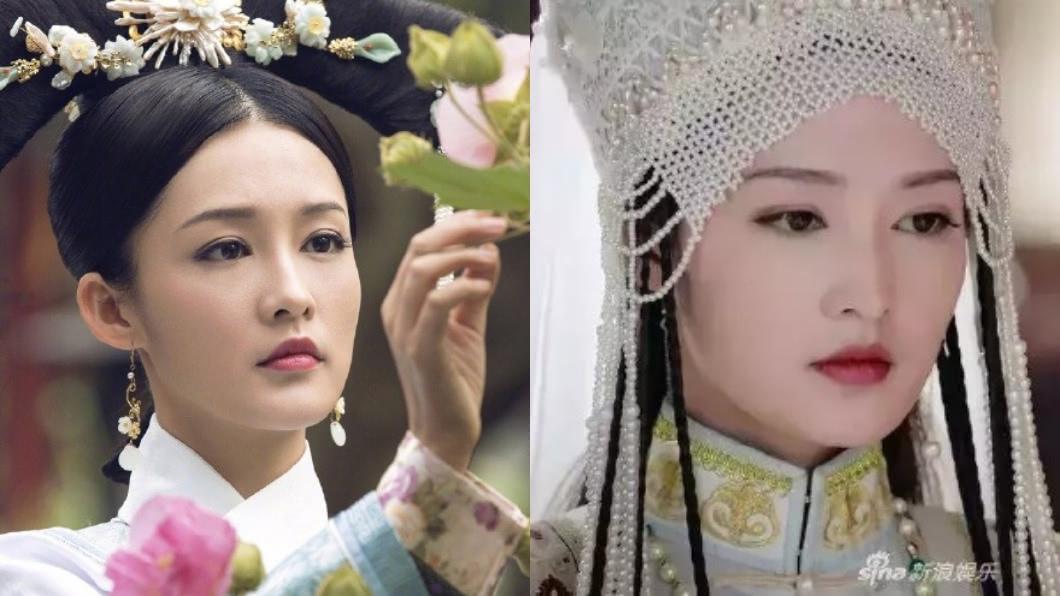 《如懿傳》裡飾演香妃的演員李沁。圖/翻攝自微博