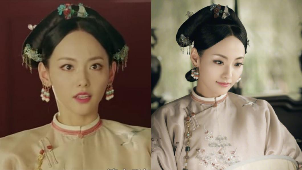 《延禧攻略》裡飾演香妃的演員張嘉倪。圖/翻攝自微博