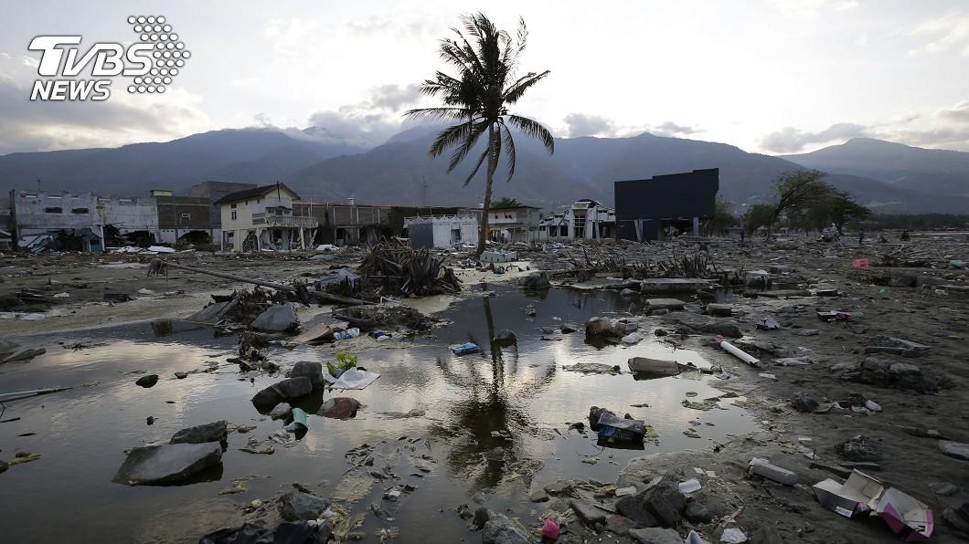 日前印尼強震,造成嚴重災情。圖/達志影像美聯社 地震週期已到!南臺灣恐隨時現「5米高海嘯」