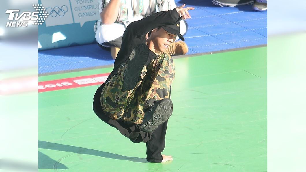 圖/中央社 運動舞蹈在青奧首登場 簡嘉呈預賽止步