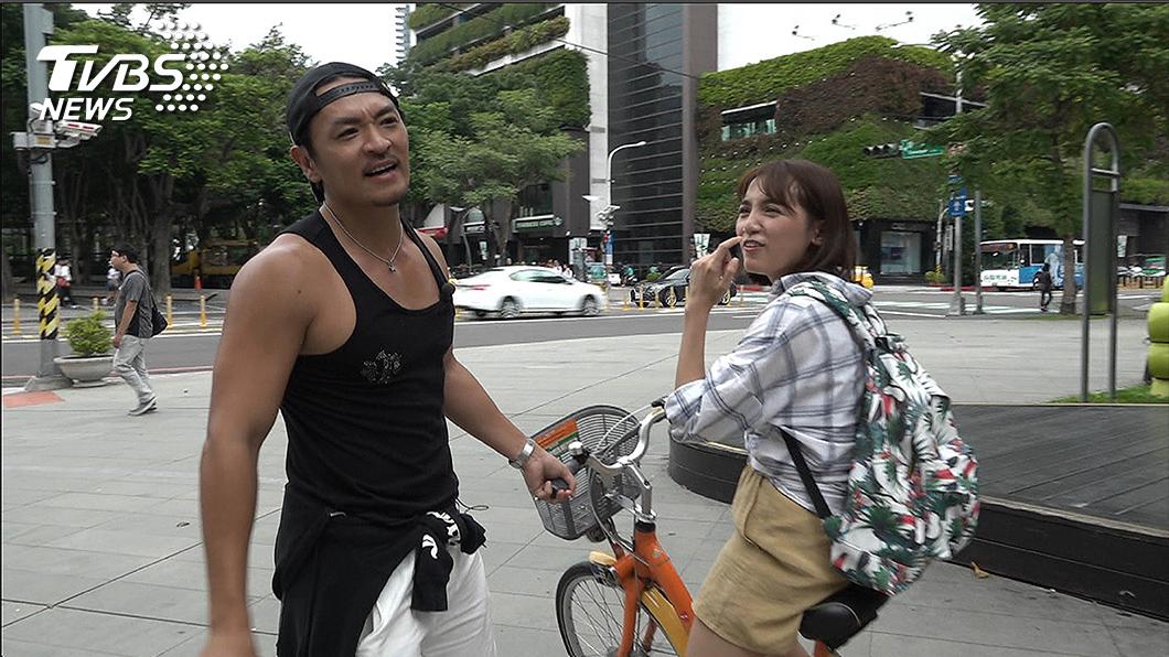 TVBS歡樂台《食尚玩家》主持人夢多開拍前還得先教Dora騎腳踏車 《食尚玩家》全台爆好料公社出動 社長夢多美食長征