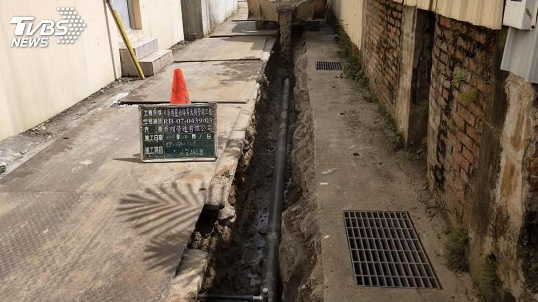 圖/中央社 台水提升供水穩定度 陸續汰換南投管線