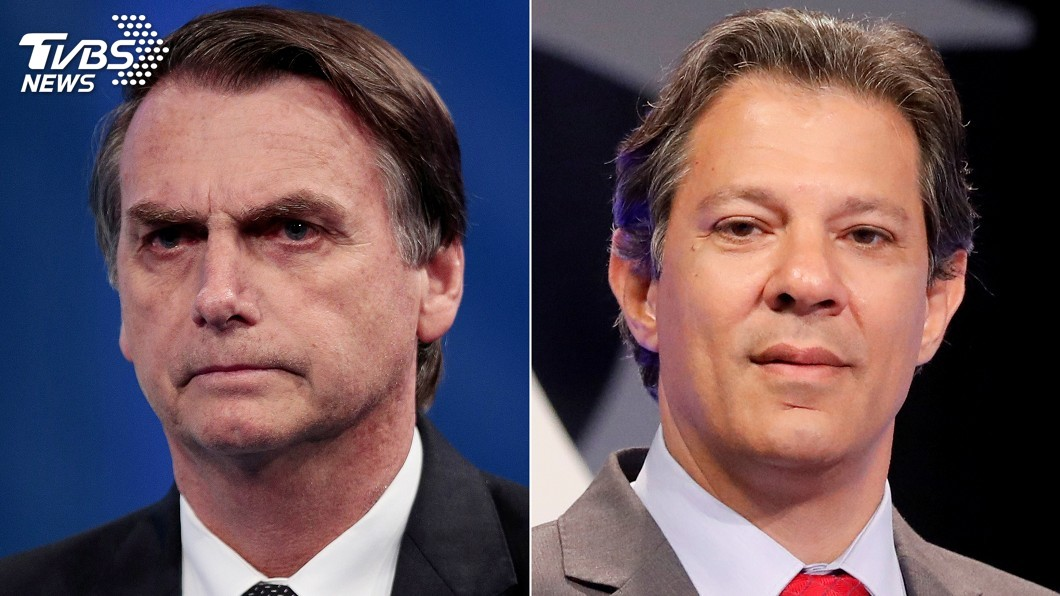 圖/達志影像路透社 巴西總統選舉二輪對決 候選人態度是關鍵