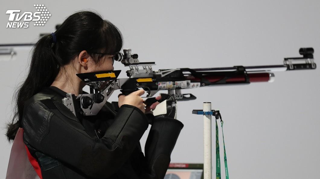 圖/中央社 射擊陳妘筠亞運到青奧持續進步 未來性看好