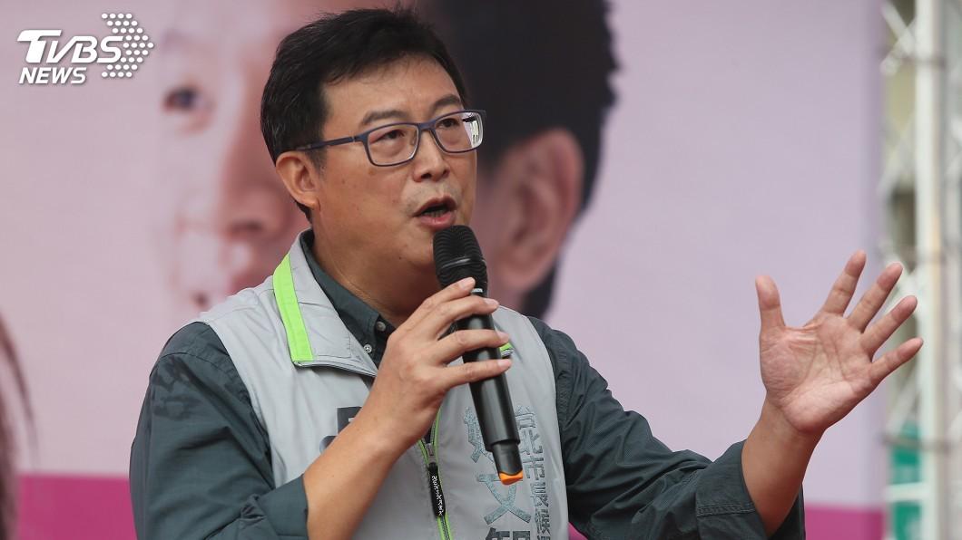 圖/中央社 批轉型正義太慢 姚文智嗆:當選後處理蔣介石銅像