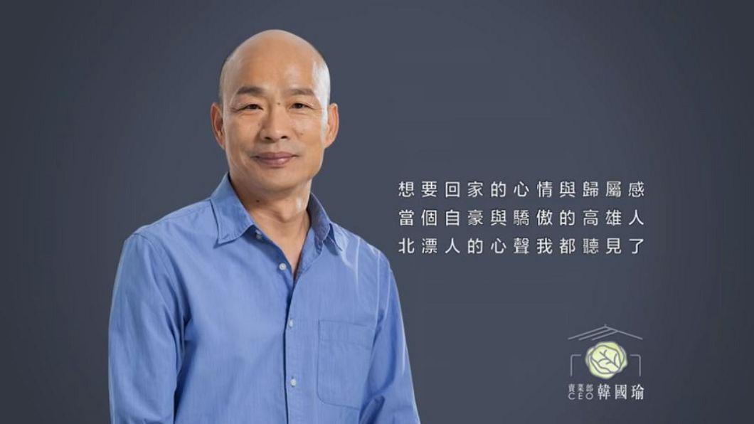 圖/翻攝自YT,Hsu Dr.頻道,《韓國瑜~幫我回家》