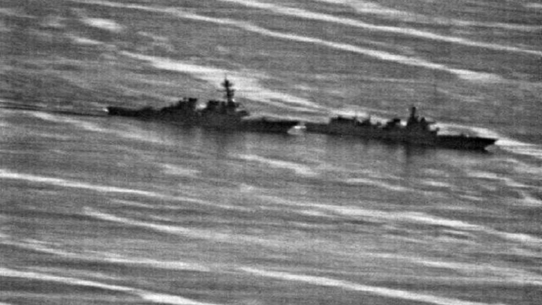中國軍艦艇以危險的動作攔截美艦,讓美國軍方怒不可遏。圖/Us Navy phot 【新新聞】層級最高、最嚴厲批判 習大怎麼因應彭斯宣戰